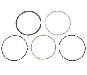 - Piston Ring Set - Standard - Compatible with Honda XL600R 1983-1987 NX650 XR650L 1993-1996