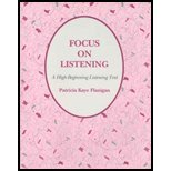 img - for Focus on Listening: A High-Beginning Listening Text (Student Book) book / textbook / text book
