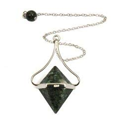- CrystalAge Preseli Stonehenge Bluestone Double Ended Pendulum