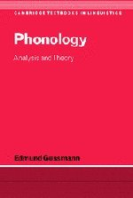 Phonology: Analysis and Theory (Cambridge Textbooks in Linguistics)