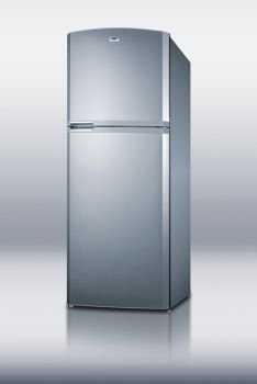 frost-free refrigerator-freezer with icemaker – platinum