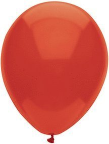 100 Latex Balloons - 11 Inch - Real Red