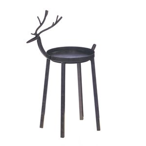 712277bfd55 Image Unavailable. Image not available for. Color  Reindeer 3-Wick Candle  Holder ...