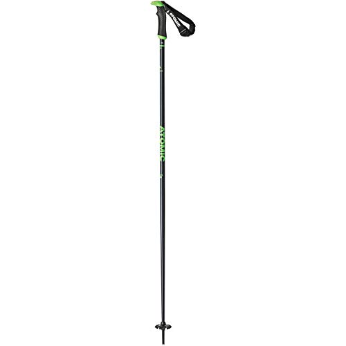 Atomic AMT SQS Ski Poles Blue/Green, 125cm by Atomic