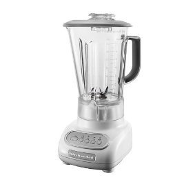 (KitchenAid KSB465WH 4-Speed Countertop Blender with 48-Ounce Polycarbonate Jar, White)