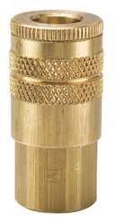 Parker B23E Valved Pneumatic Quick Coupler 3//8 NPT Female Brass