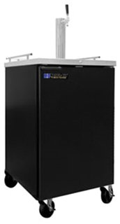 Master-Bilt MBDD24 Fusion Draft Beer Cooler, Black