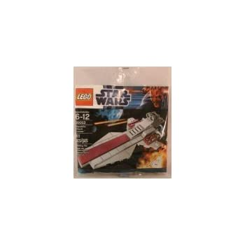 Amazon.com: LEGO Star Wars Republic Attack Cruiser (30053) - Bagged ...
