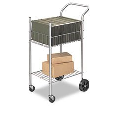 FEL4092001 Mail Cart,Holds 75 Ltr/Lgl Fldrs,19-1/2x26x40-1/4,CE by Fellowes