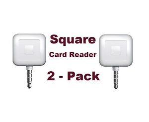 2 PACK - Square Card Readers