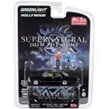 1967 Chevrolet Impala Sport Sedan Black w/Sam and Dean Figurines Supernatural (2005) TV Series Ltd Ed 4,600 pcs 1/64 Diecast Car by Greenlight 51206