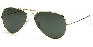 Ray-Ban RB3025 AVIATOR SUNGLASSES (58 mm, L0205 GOLD/G-15