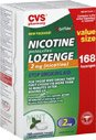 - CVS Nicotine Lozenge 2mg 168 Count