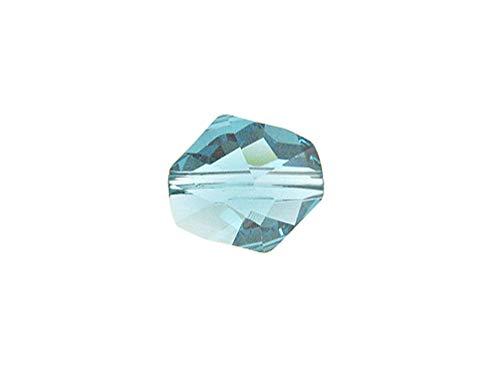 6 pcs Swarovski Crystal 5523 Faceted Cosmic Beads 12mm Aquamarine