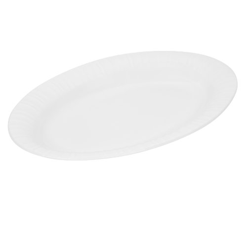 Corningware French White 12-1/2-Inch by 9-Inch Serving (Oval Serving Platter)