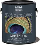 Modern Masters MM659 1 Gallon Olympic Gold Matte Metallic Paint by Modern Masters