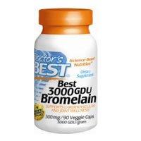 Bromelain 3000 GDU, Pack of 2 by Doctor's Best