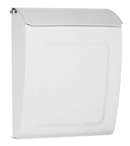 Architectural Mailboxes 2594W-10 Aspen Mailbox, White