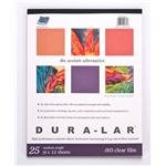Grafix Clear-Lay Acetate Alternative 11 in. x 14 in. .003 thick pad of - Thick Acetate