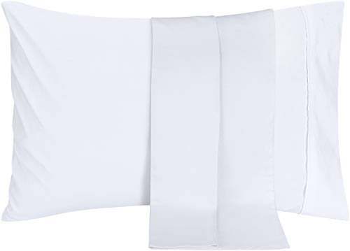 Utopia Bedding Pillowcases 2 Pack - (Queen, White) - Brushed Microfiber Pillow Covers
