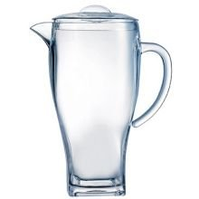 Arcoroc Outdoor Perfect SAN Plastic Pitcher with Lid, 67 1/2 Ounce -- 12 per case.