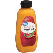 Great Value All Natural Southwest Spicy Mustard, 12 oz, 2 Packs by Great Value (Image #1)