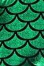 Alaroo Shiny Fish Scale Mermaid Leggings for Women Pants Green Plus 4XL by Alaroo (Image #2)