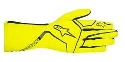 Tech 1 Race Glove - Alpinestars 3552017-551-L Tech 1-K Race Gloves, Yellow Fluorescent, Size L