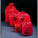 Medical Action Industries Biohazard Waste Bags - 3 mil, 31'' x 41'' 30 Gallon - Model 119