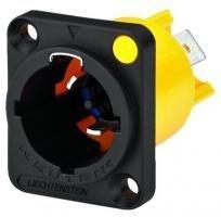 Neutrik 250 V/16 A encendido True1 Panel conector Monacor 34.8840