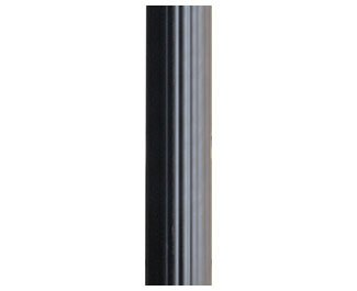 KICHLER 9595BK Accessory Outdoor Fluted Post, Black by KICHLER
