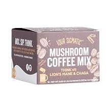 Mushroom Coffee Mix - LIONS MANE AND CHAGA - Medicinal Mushroom Blend - Four Sigmatic