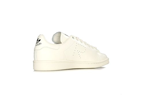 Adidas Heren Raf Simons Stan Smith Wit / Zwart Leder Crème Wit / Creme Wit / Kern Zwart