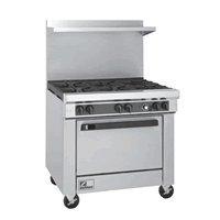 """Southbend 400 Series Ultimate Restaurant Range 36"""" 6 Burner Standard Oven - 4361D"""