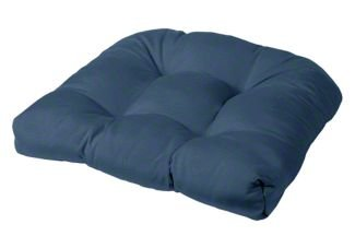 Tufted Chair Cushion | Rounded Back Corners | 21