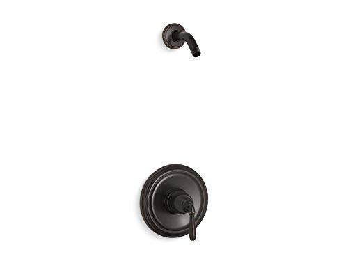 KOHLER TLS396-4-2BZ Devonshire(R) Rite-Temp(R) shower valve trim with lever handle, less showerhead