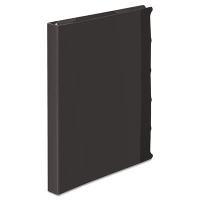 View-Tab Round Ring Presentation Binder, 5-Tab Style, 5/8'' Capacity, Black, Sold as 1 Each