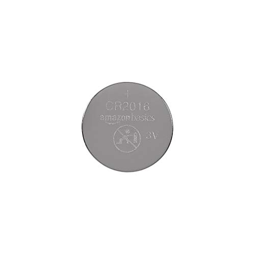 Cr2016 Coin Cell - AmazonBasics CR2016 Lithium Coin Cell, 2-Pack