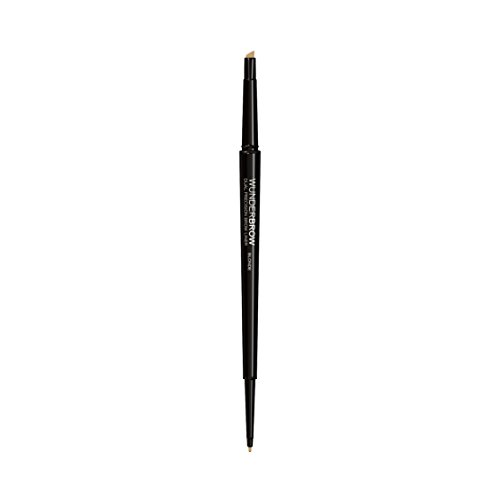 WUNDERBROW Dual Precision Brow Liner - Long Lasting Eyebrow Pencil for Eyebrow Makeup, Blonde