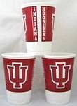 Collegiate Cups Indiana Package of 8 ()