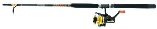 Daiwa BG60/BG701MRS Black Gold 60 Reel Mounted on a 7 Feet Medium Black Gold Rod