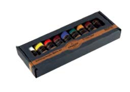 Charvin Extra-Fine Artists' Acrylic Paints - Luxurious Professional Artist Paint Created to Mimic The Colors of Nature - [Basic Set of 9-60ml Tubes]