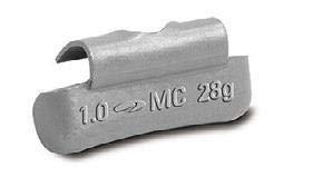 PLOMBCO Zinc Passenger Car Clip On Weight Set (MCZS 0.25 oz - 2.00 oz) 200 ()