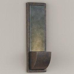 Murray Feiss Chameleon 1 Light Peruvian Bronze Outdoor Wall Bracket (Chameleon Outdoor Wall Bracket)