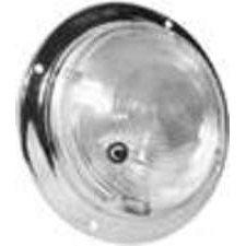 "Truck-lite 80996 Dome Lamp W/chrome Housing & Swtich, 5"""