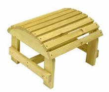 Bc01p Pine Ottoman Kit by Bear Chair