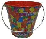 gummy bear party - 6 pack Metal Bucket 5