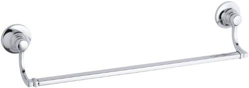 KOHLER K-11410-CP Bancroft 18-Inch Towel Bar, Polished Chrome