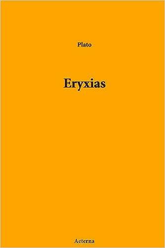 Téléchargements gratuits de livres électroniquesEryxias PDF 1444412973