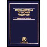 The Fundamentals of Income Taxation, James F., III Lvers, 1579960928